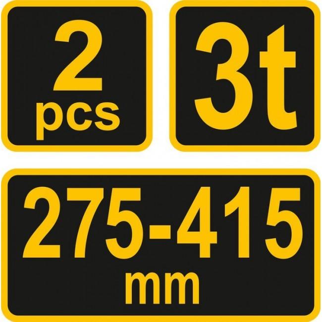 80308 - Capre Auto Vorel 3T, 2 bucati