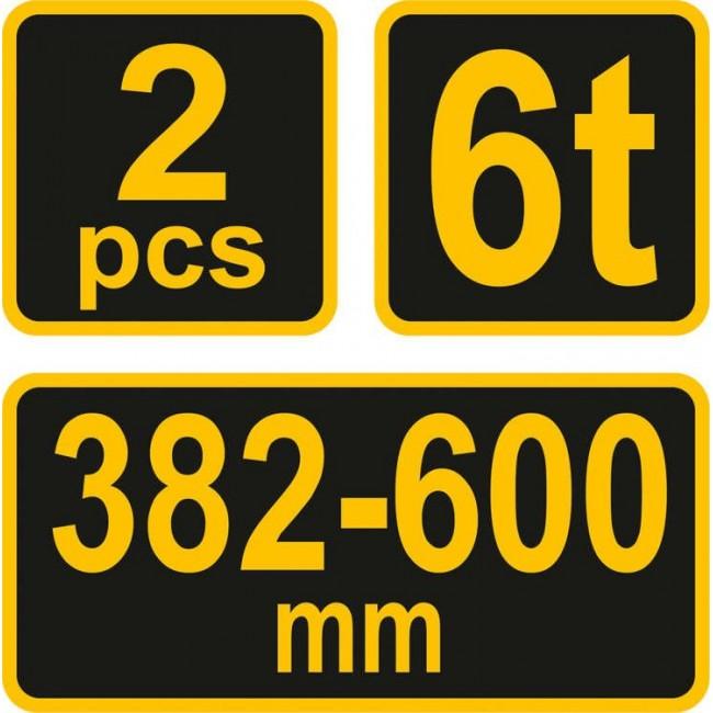 80309 - Capre Auto Vorel 6T, 2 bucati