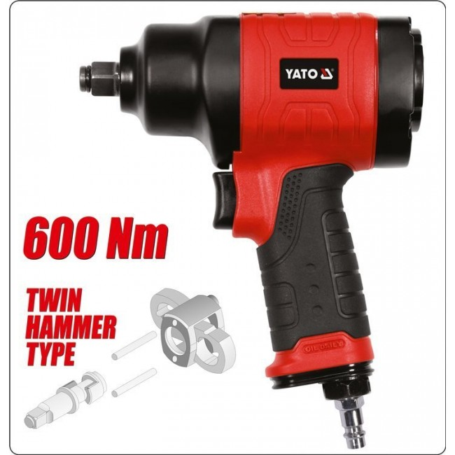 "YT-09506 - PISTOL PNEUMATIC 1/2 ""600NM"