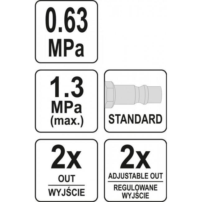 YT-23860 - DISTRIBUITOR  AER CU REGULATOR PRESIUNE