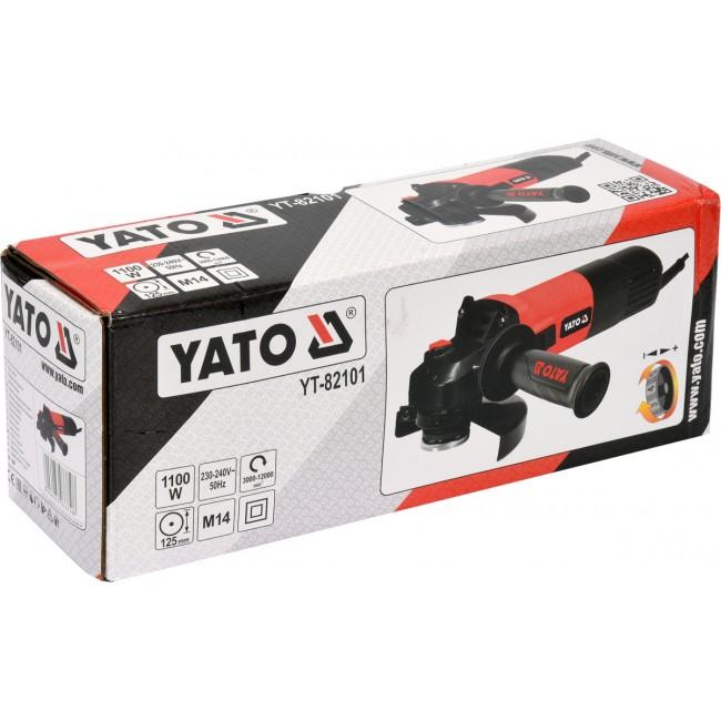 YT-82101 - Polizor Unghiular, 1100W, 125mm
