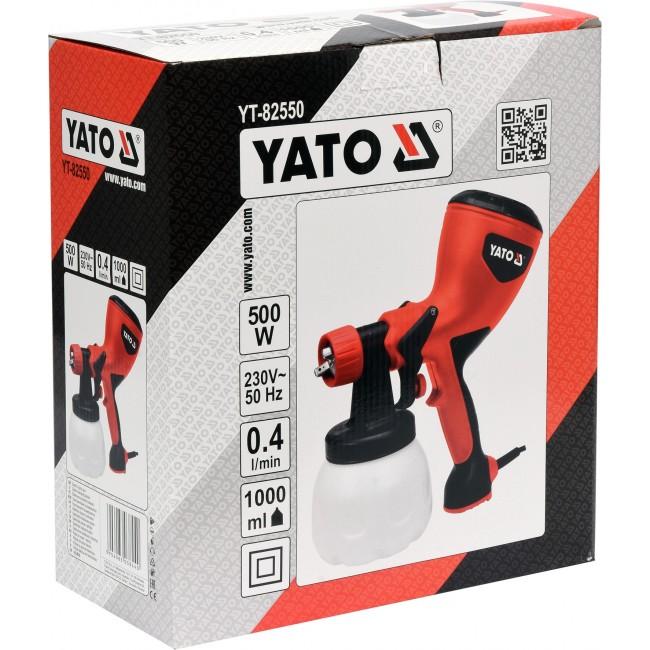 YT-82550 - Pistol de Vopsit Yato, 500W, 1L