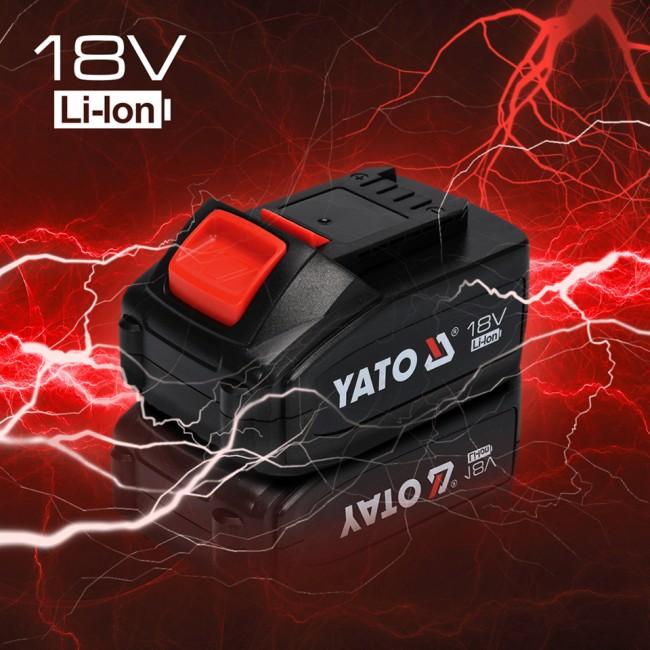 YT-82786 - Autofiletanta cu Percutie Yato, Li-Ion,18v 40Nm