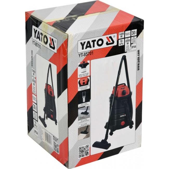 YT-85701 - ASPIRATOR  1400W 30L